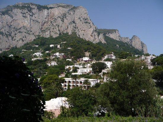 Villa Palomba: Paesaggio caprese dalla camera n. 4