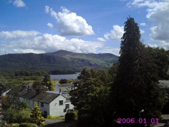 Dalegarth House: view from room 4