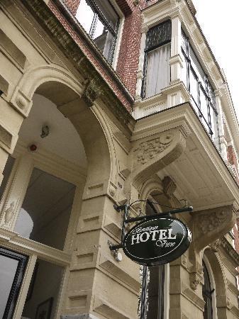 บูตีคโฮเต็ล วิว: façade de l'hôtel Amsterdam