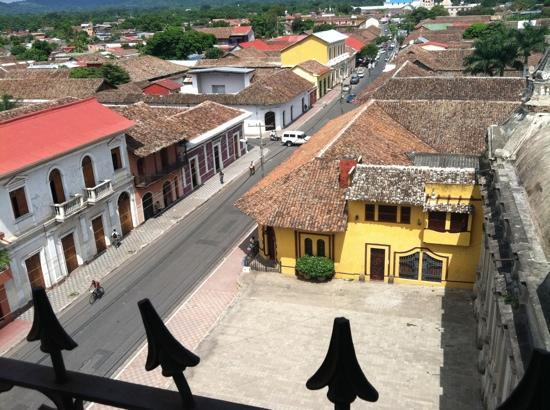 Granada, Nicaragua: View from La Merced Bell Tower