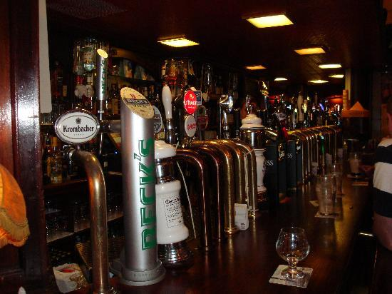 O'Reillys of Templebar: Lots to choose from