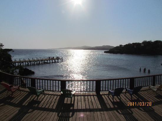 Media Luna Resort & Spa: Main deck