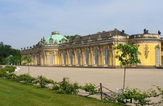 Potsdam, Tyskland: il castello rococò