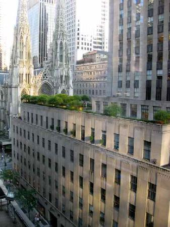 The Jewel facing Rockefeller Center: The view from our room - seriously!