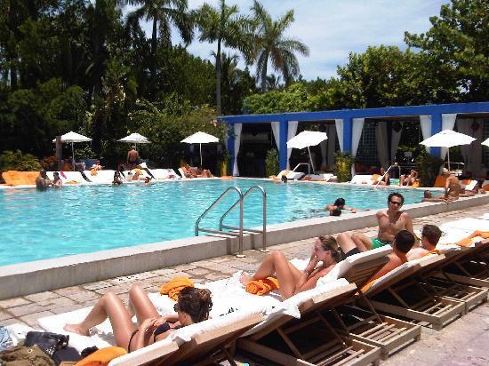 S Club South Beach Hotel Pool Area