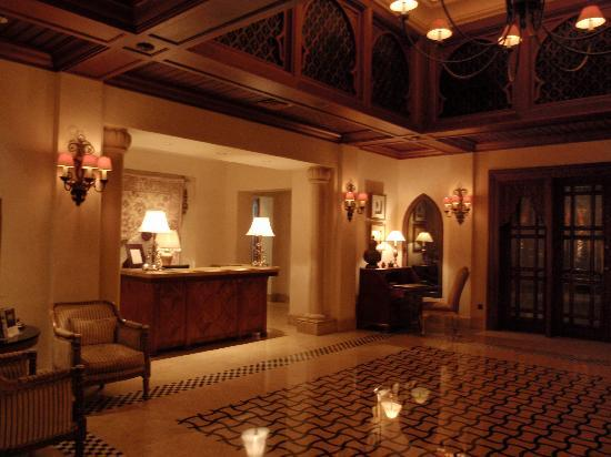 Residence & Spa at One&Only Royal Mirage Dubai: Reception
