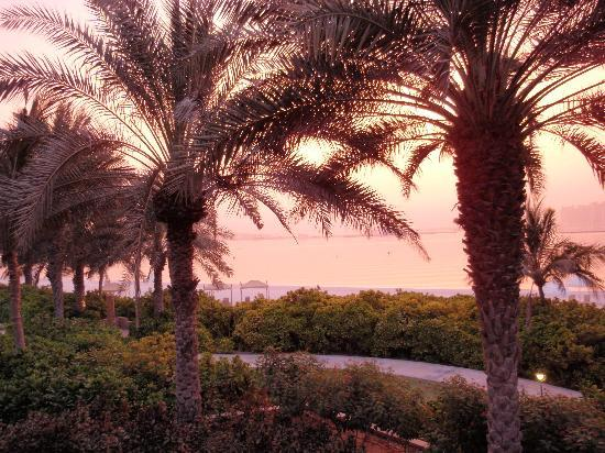 Residence & Spa at One&Only Royal Mirage Dubai: Sunset from the balcony