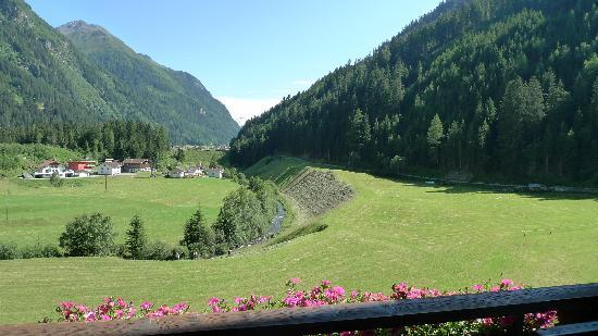 Kaunertal, Austria: View from my room with balcony