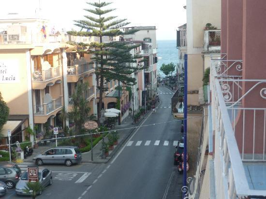 Hotel Europa: Vista desde la terraza.