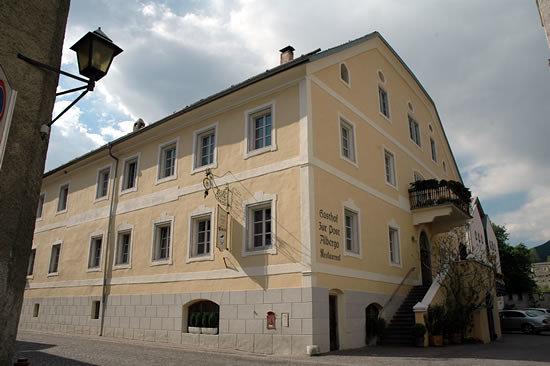 Ingresso Ristorante Hotel Post - Glorenza