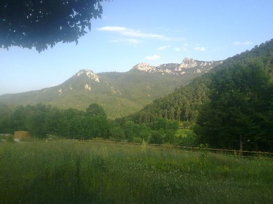 La Pobla de Lillet, Spain: Vistas Hostal els Falgars