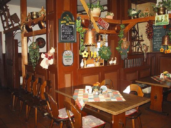 Gasthof-Pension Zum Schwaenlein: die Gaststätte