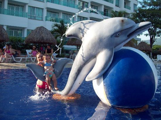 GHL Comfort Hotel Costa Azul: Linda piscina para niños