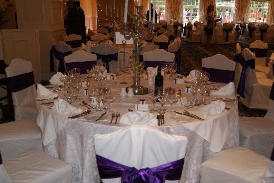 Bothwell Bridge Hotel : table setting