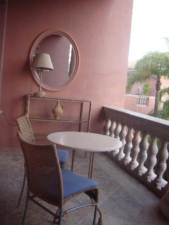 Villa Padierna Palace Hotel: Fraîcheur du balcon