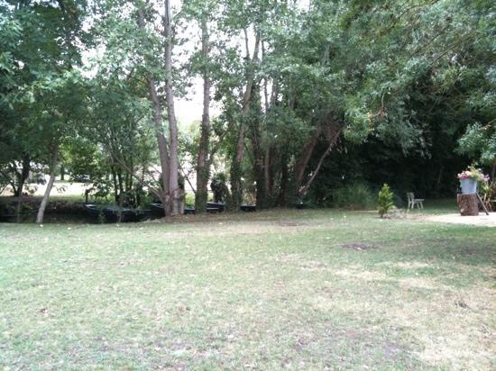 Maison Flore: le petit parc et la Venise verte