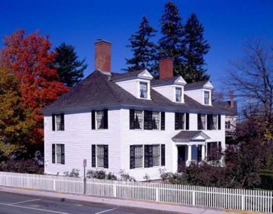 Sarah Orne Jewett House, South Berwick, ME