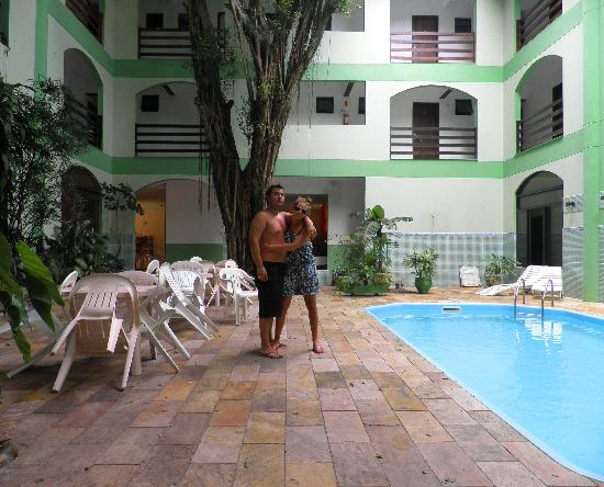 Bombinhas Hotel: en la patio interno