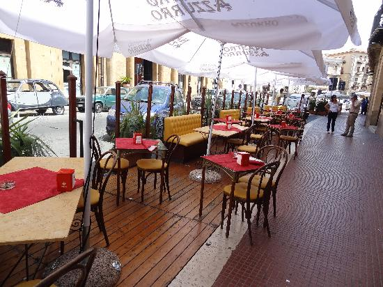 Gran Caffe Romano: Terrasse