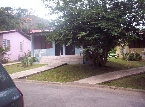 Parador Villas Sotomayor: La casita donde nos quedamos.