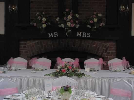 The Morritt Country House Hotel: Top table