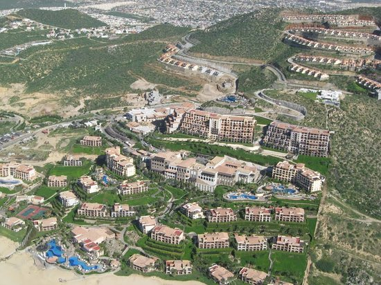 Pueblo Bonito Sunset Beach Golf & Spa Resort : Aerial View