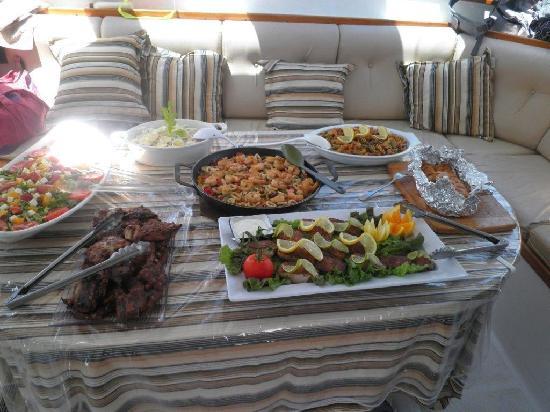 Tintamarre Island: Gourmet lunch