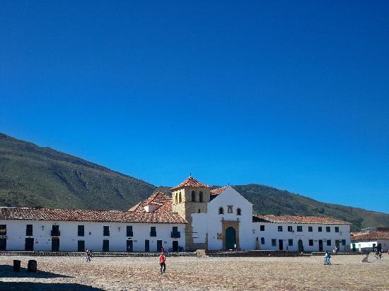 Villa de Leyva, Colombia: Plaza principal