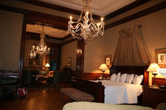 Other view of guest room - Picture of Wentworth Mansion ...