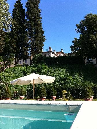 Villa Castiglione : the garden