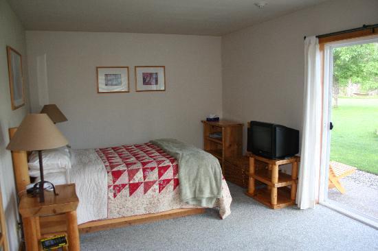 River Run Inn: Bed area