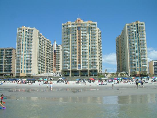 Tower 1 2 3 From The Beach 4