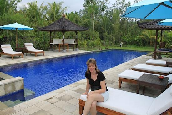 Alam Shanti: Shared pool area at Alam Wangi Spa