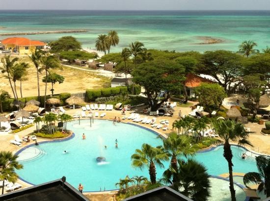 Aruba: view from westin room 716