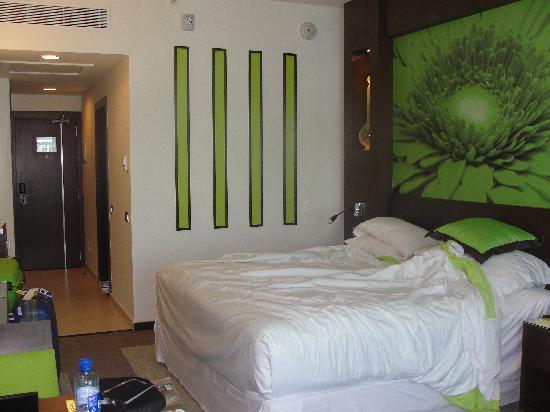 Hotel Riu Plaza Panama: La habitacion