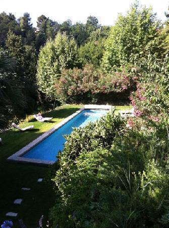 Mas du Naoc : piscine-juillet 2011