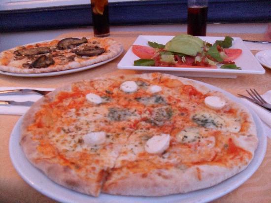 La Pappardella : pizzas + ensalada