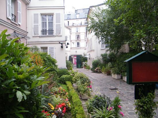 Hotel des Grandes Ecoles: le jardin