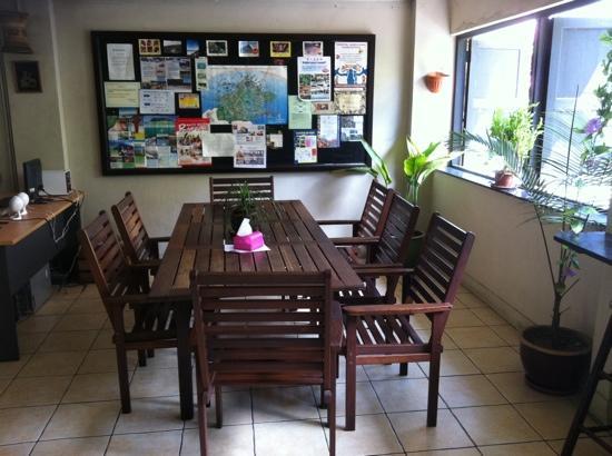 Akinabalu Youth Hostel: Dining area