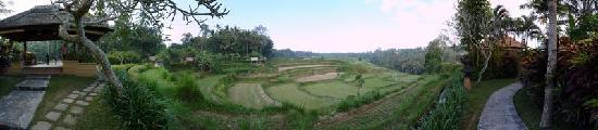 Villa Semana: Vue panoramique en amont de la rivière