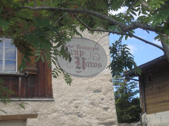 Maiensässhotel Guarda Val: Crap Naros Restaurant