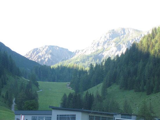 Hotel Zauchenseehof: Blick vom Balkon