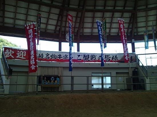 Okinoshima-cho, Japão: ドームの中