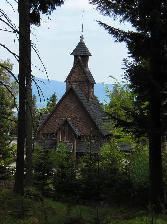 Hotel Spindlerova Bouda: Kirche Wang