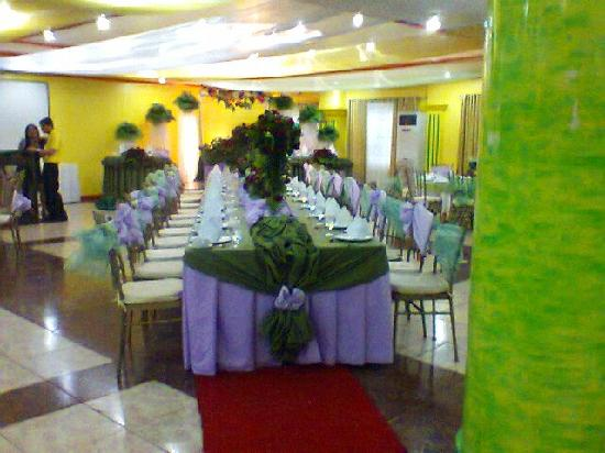 Hotel Consuelo: caption with one of their wedding
