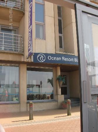 Ocean Resort: entrée de l'hôtel
