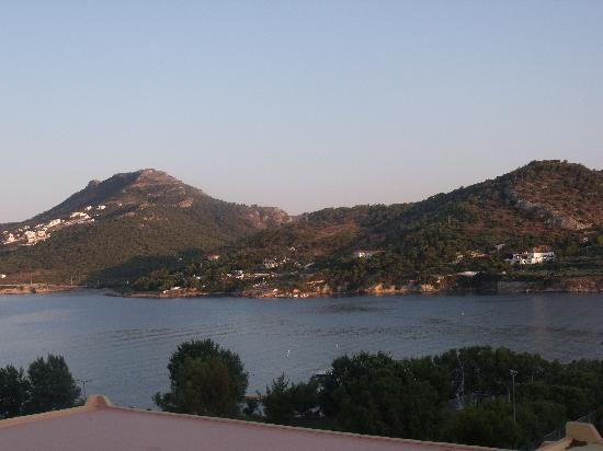 Vravrona, Hellas: vue de notre chambre