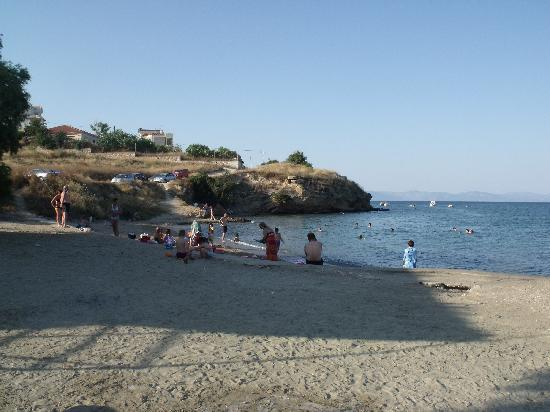 Враврона, Греция: la plagette
