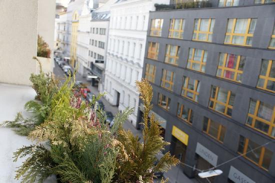 Savoy Hotel Vienna: 窓辺の景色