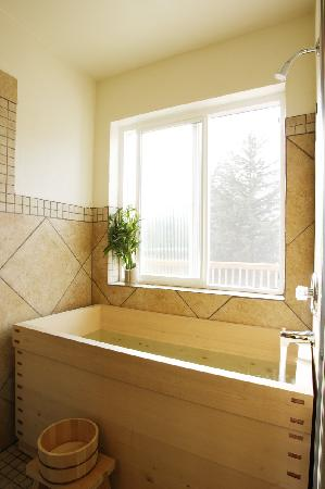 Alyeska Adventures B&B : Authentic Japanese soaking tub